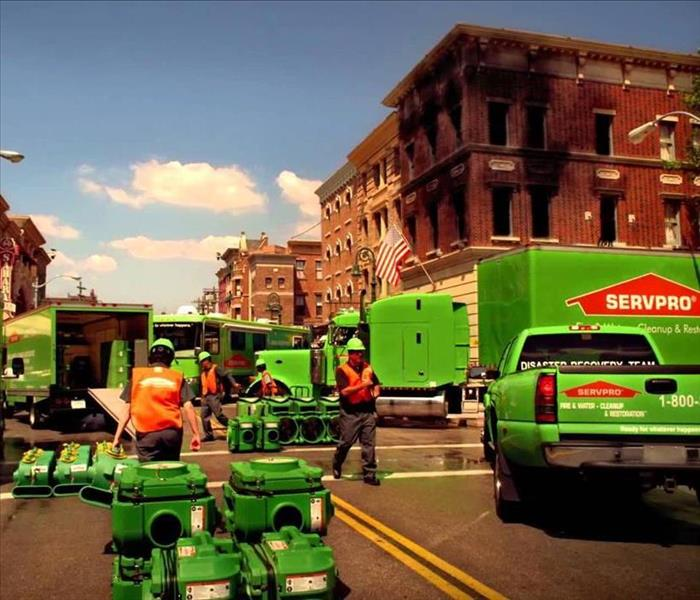 The SERVPRO Disaster Recovery Team