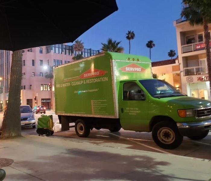 Our trucks on the streets of South Pasadena