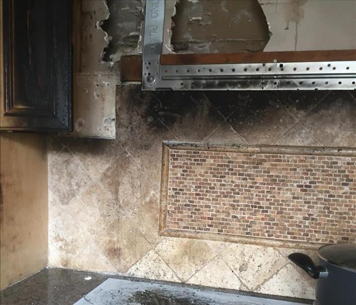 Soot Damage to Home