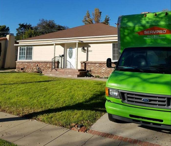 SERVPRO of South Pasadena/San Marino at work