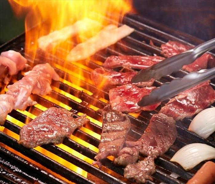 Fire Damage Some Grilling BBQ Safety Tips